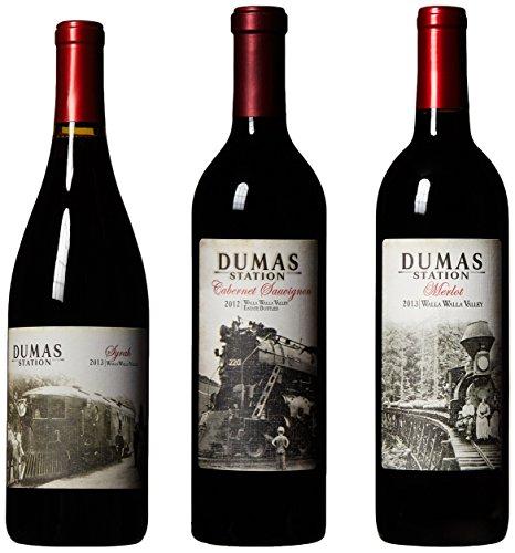 Biltmore Pinot, Sangio, and Syrah Mixed Pack, 3 x 750 mL